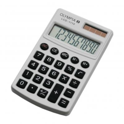 Olympia LCD 1110 Calculator - Wit