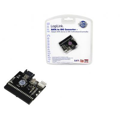 Logilink ATA kabel: Adapter IDE ATAPI (PATA) to S-ATA - Rood