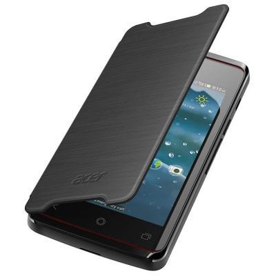 Acer mobile phone case: Liquid Z200 Flipcover Zwart
