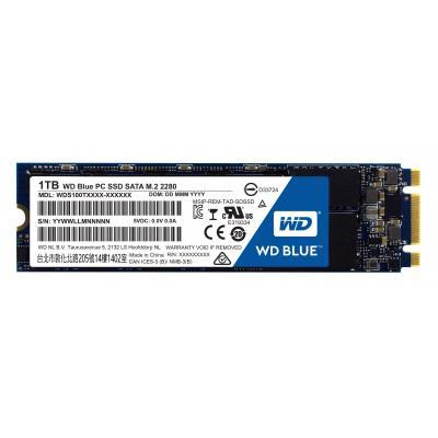 Western digital SSD: Blue - Zwart, Blauw, Wit