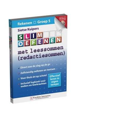 Karakter educatieve software: Slim Oefenen, Met Leessommen (Groep 5)