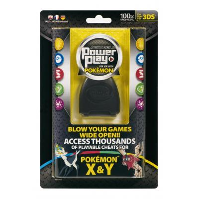 Datel RAM-geheugen: Datel, Action Replay Power Play Pokemon X + Y  3DS