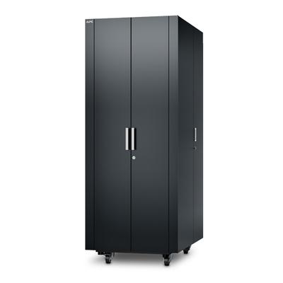 APC NetShelter CX 38U Geluiddempende 'Server Room in a Box', Donker Grijs Rack