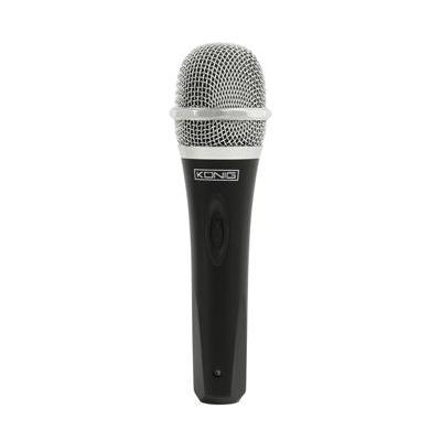 König microfoon: 50 - 15000Hz, 6.35mm, Zwart