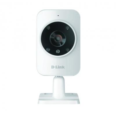 D-Link Home Monitor HD beveiligingscamera - Wit