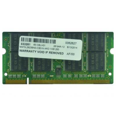 2-power RAM-geheugen: 1GB PC2700 333MHz SODIMM Memory