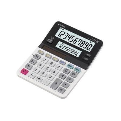 Casio calculator: LCD, 10 digit, 1 x LR44, 160 g, Black/White - Zwart, Wit