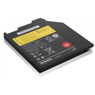 Lenovo batterij: ThinkPad Battery 43 (3 cell bay), 32 Wh, 10.8V, Black - Zwart