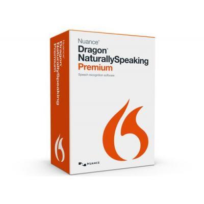 Nuance stemherkenningssofware: Dragon NaturallySpeaking Premium 13