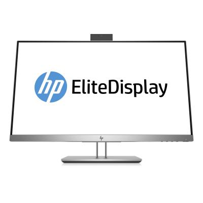 Hp monitor: EliteDisplay E243d monitor met USB-C docking - Grijs, Zilver
