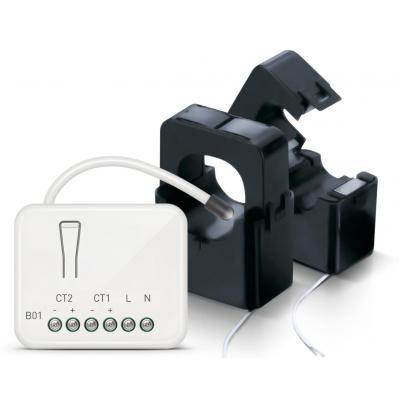 Zipato elektrische meter: Micromodule Energy Meter, 868.42 MHz (EU) - Wit