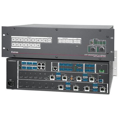 Extron DTP CrossPoint 108 4K IPCP MA 70 Video switch - Zwart