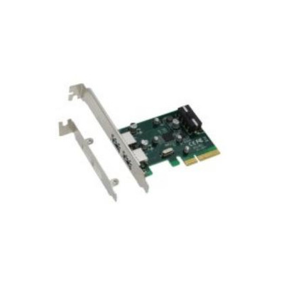 Sedna SE-PCIE-USB31-2-2A-AS Interfaceadapter - Groen, Grijs
