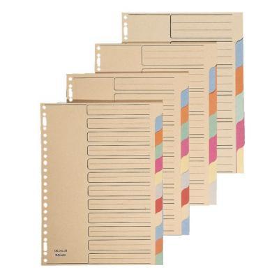 Esselte indextab: Cardboard tabs, A4