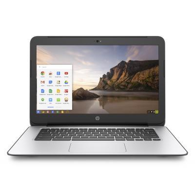 Hp laptop: Chromebook 14 G4 - Intel Celeron N2940 - Zilver