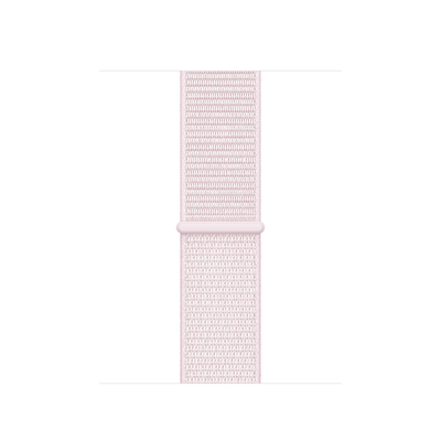 Apple : Geweven sportbandje van Nike - Pearl Pink (38 mm) - Roze