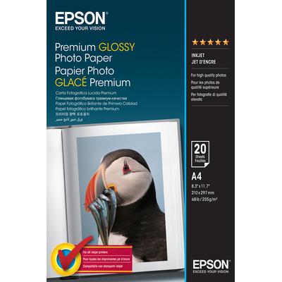 Epson Premium Glossy Photo Paper - A4 - 20 Vellen Fotopapier - Wit