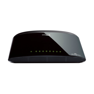 D-Link DES-1008D Switch - Zwart