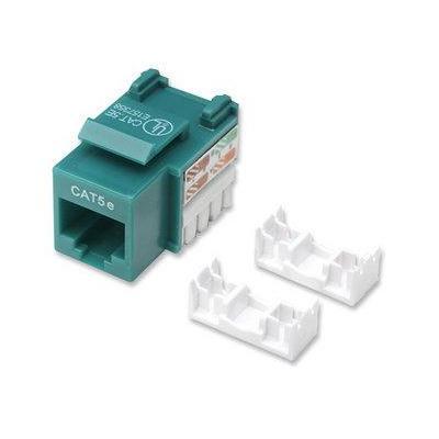 Intellinet kabel connector: Cat5e Keystone Jack - Groen