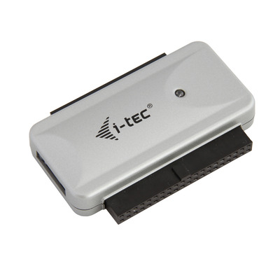 I-tec USB 2.0 IDE/SATA Adapter with external adapter 220 V for connection IDE SATA disks BLU-RAY CD-ROM CDRW DVD .....