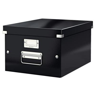 Leitz archiefdoos: Click & Store middelgrote doos - Zwart
