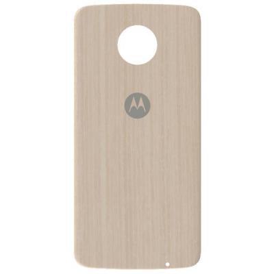 Lenovo mobile phone case: Mods Back Cover - Washed Oak - Beige, Hout