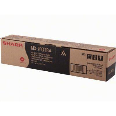 Sharp MX70GTBA Toner - Zwart