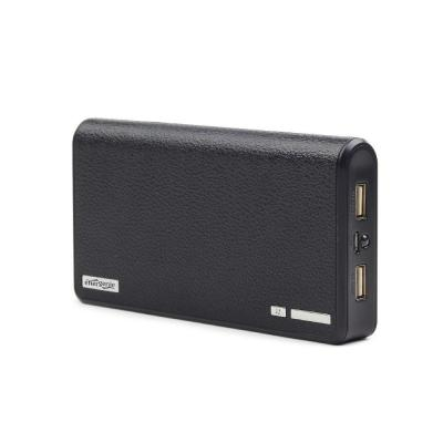 Gembird powerbank: 12000 mAh Powerbank - Zwart