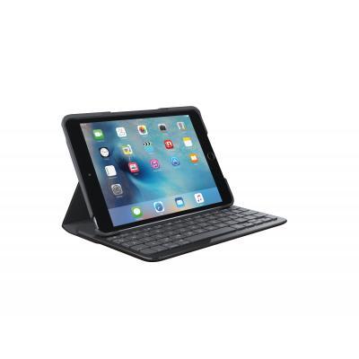 Logitech mobile device keyboard: Focus - Zwart, QWERTY