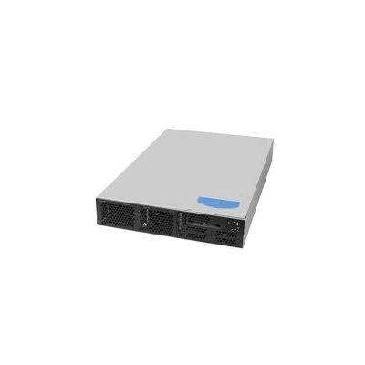 Intel server barebone: Server System SR2520SAFR - Zwart, Zilver