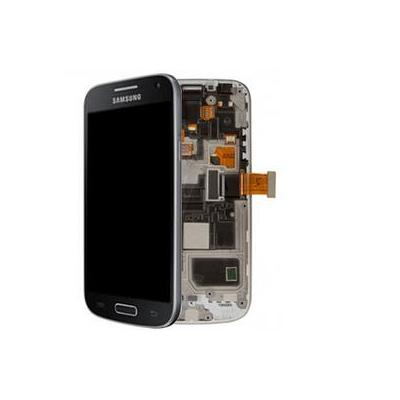 Samsung mobile phone spare part: GT-I9195 Galaxy S4 Mini, Complete Front+LCD+Touchscreen, Black Edition