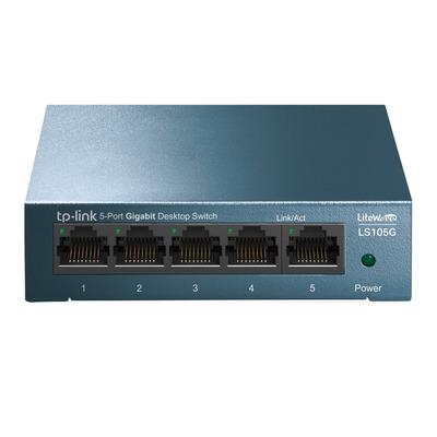TP-LINK LS105G Switch - Blauw