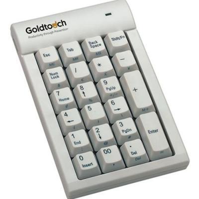 Goldtouch  - numeric Toetsenbord - Wit