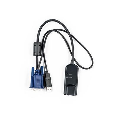 Vertiv Avocent MPUIQ-VMCHS KVM kabel - Zwart, Blauw