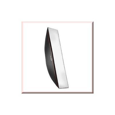 Walimex softbox: pro Softbox OL 22x90cm Aurora/Bowens - Zwart, Wit