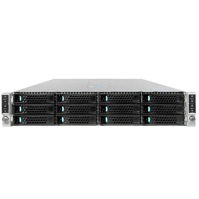 Intel Server Chassis H2312XXLR3 Behuizing - Zwart,Zilver