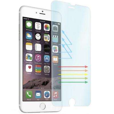 Behello screen protector: iPhone 6 / 6S High Impact Glass Blue Light Filtering Transparent