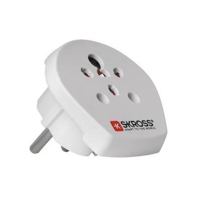 Skross stekker-adapter: SKR1500217 - Wit
