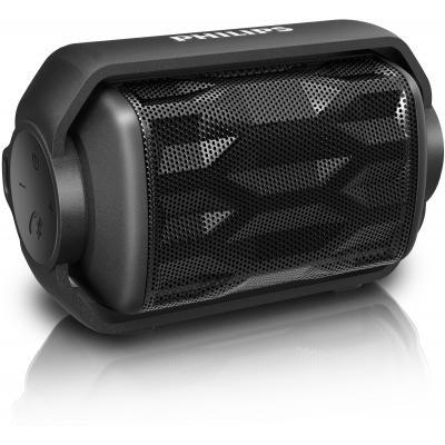 Philips draagbare luidspreker: draadloze draagbare luidspreker - Zwart