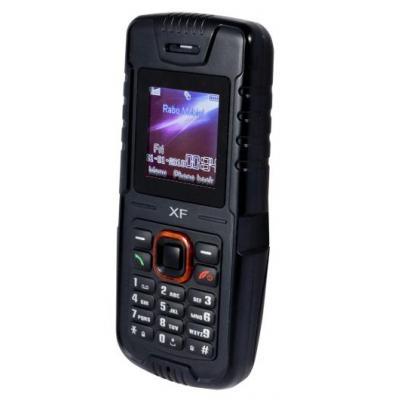 Profoon mobiele telefoon: XF, Waterbestendige GSM, Zwart