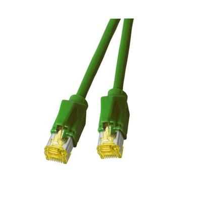 EFB Elektronik RJ-45, Male - Male, 10 Gbit, 500 MHz, S/FTP, Cat6a, LSZH, 15 m Netwerkkabel - Groen