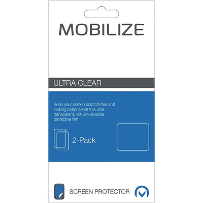 Mobilize Clear 2-pack HP Elite x3 Screen protector - Transparant