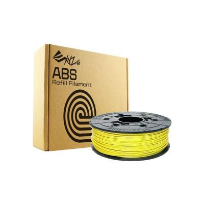 Xyzprinting 3D printing material: ABS Refill, 1.75mm, 600g, Yellow - Geel