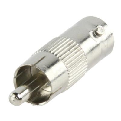 Valueline BNC Female - RCA Male, Metal Kabel adapter - Metallic
