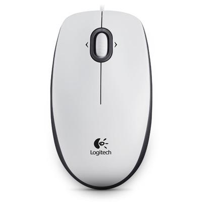 Logitech computermuis: M100 - Wit
