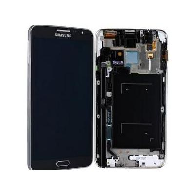 Samsung mobile phone spare part: SM-N7505 Galaxy Note 3 Neo, Complete Front+LCD+Touchscreen, black