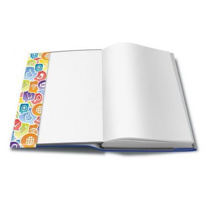 Herma tijdschrift/boek kaft: 26265 - Blauw