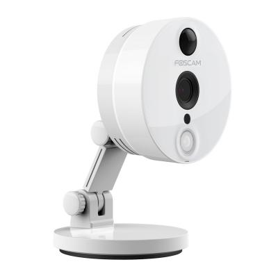 Foscam beveiligingscamera: C2 - Indoor HD IP Camera 2MP met PIR - Wit