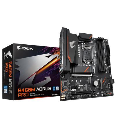 Gigabyte Intel B460 Express, LGA1200, 4x DDR4, DVI-D, DP, HDMI, 1G LAN, M.2, SATA III, USB 3.2, PS/2, Micro .....