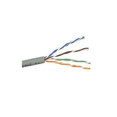 Belkin netwerkkabel: 250' Gray CAT 5e Horizontal UTP Bulk Cable - Grijs